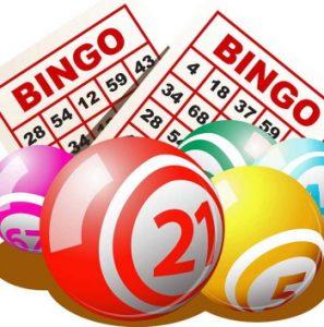 playing bingo